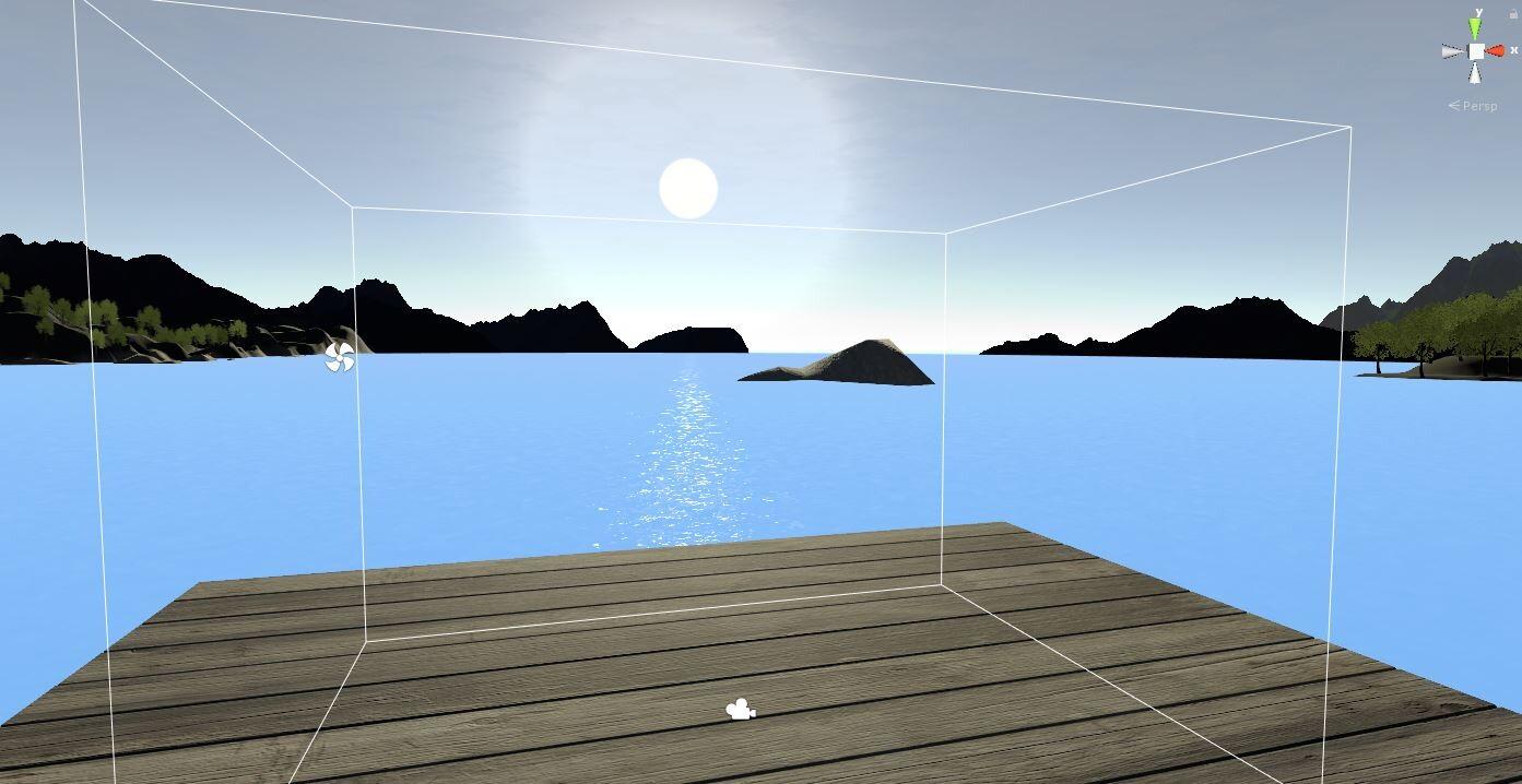 Peaceful Dock Far