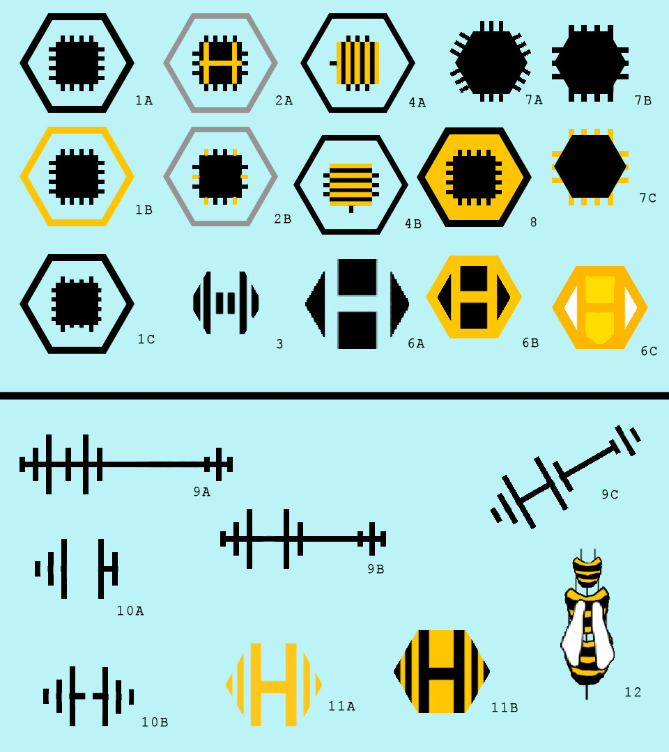 Logo designs for Honeycomb
