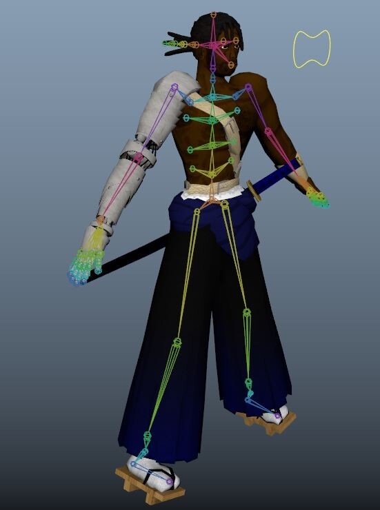 WIP Color and Rig