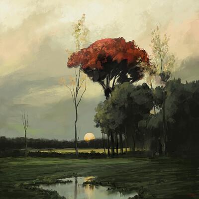 Giorgos tsolis landscape study i giorgostsolis