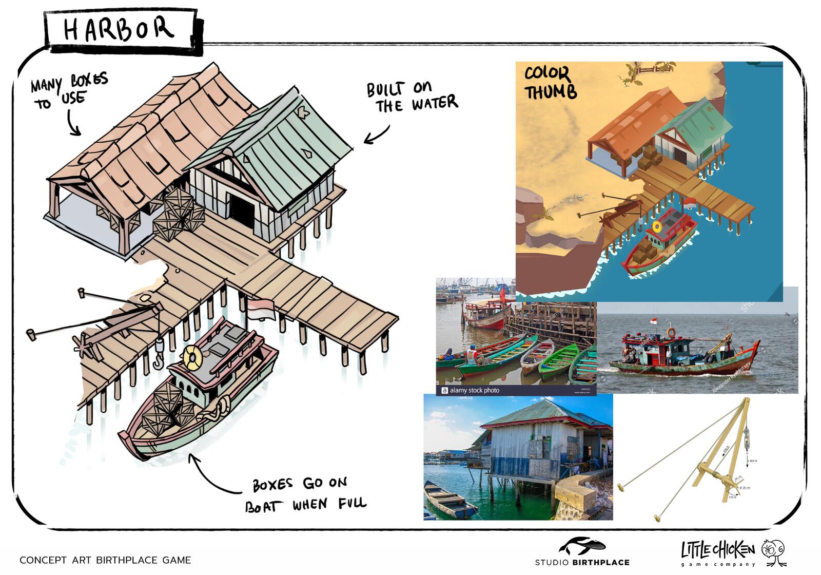 Harbor concept sheet