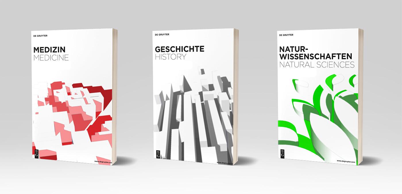 DeGruyter - book cover series