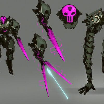 Benedick bana skull enforcer final lores