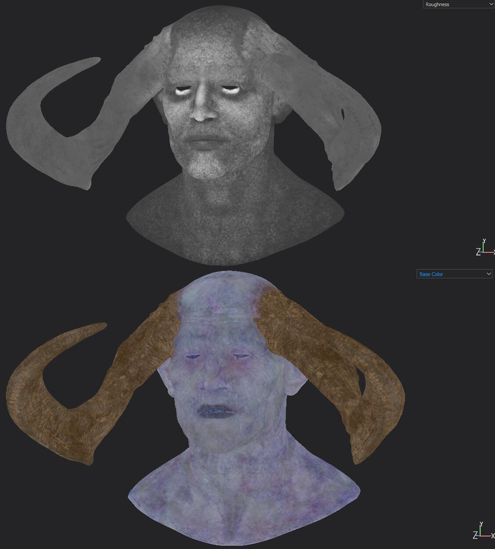 albedo+roughness maps