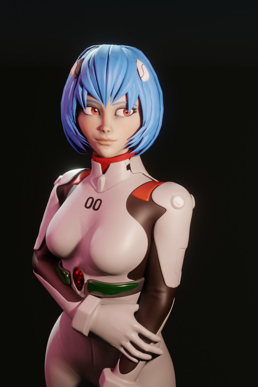 Rei Ayanami Sculpt