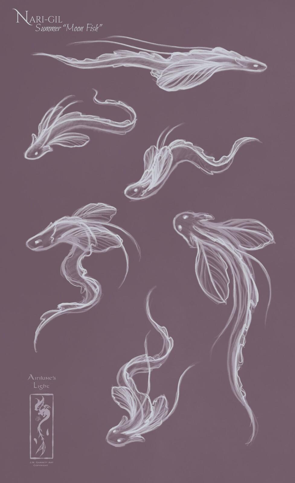 "Fantasy ""Moon Fish"""