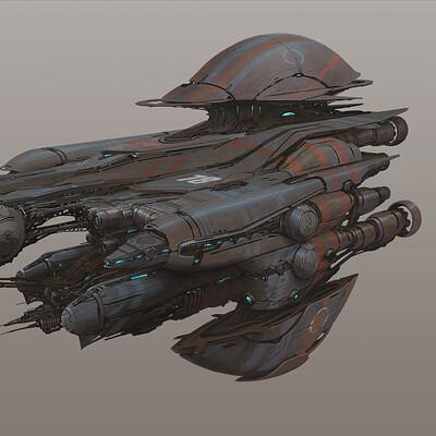 Alejandro burdisio trilobite cruiser artstation