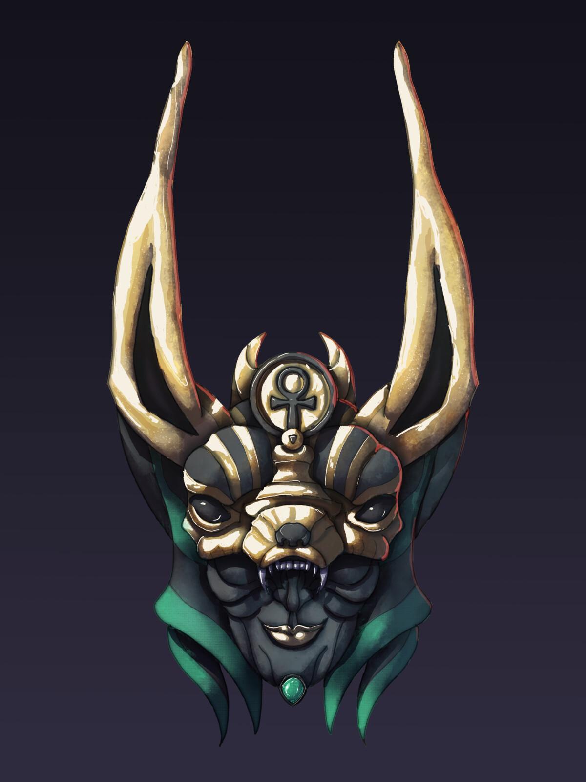 Anubis Mask - Splinters
