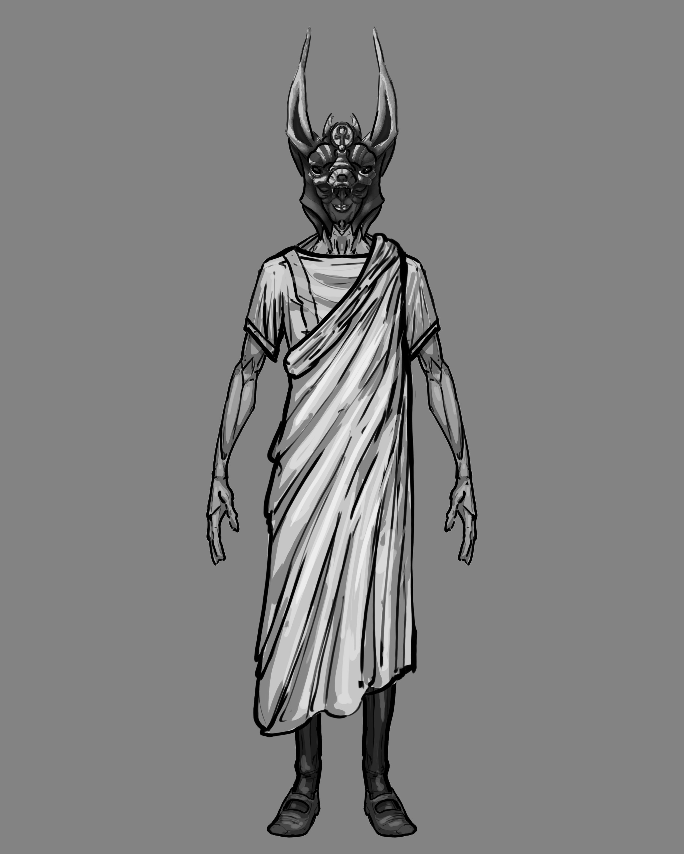 Magister Deorum with his mask.