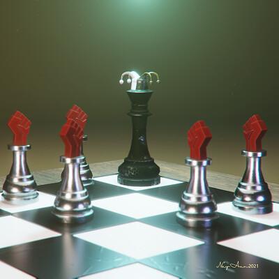 Nay aung clown vs pawns
