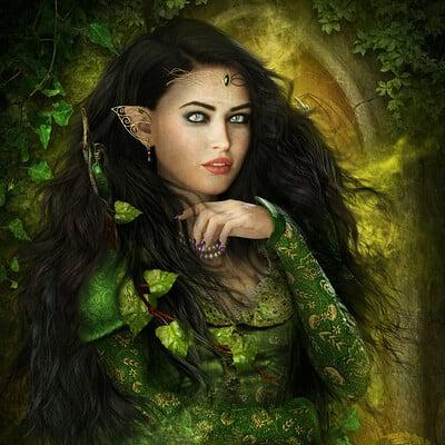 Ravven dhu elf queen