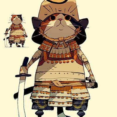 Satoshi matsuura 2021 05 23 cat samurai s