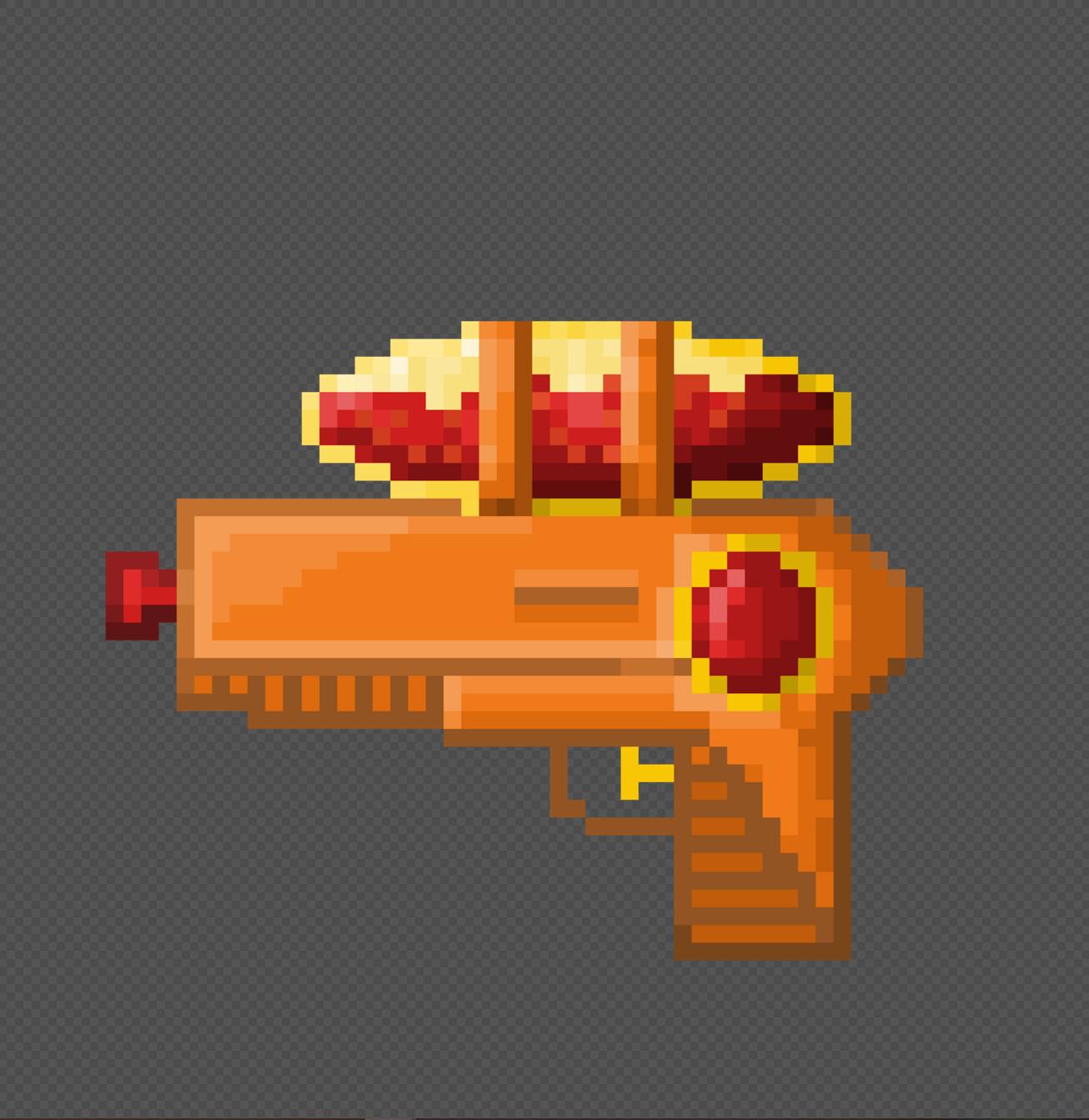 Hot sauce squirt gun