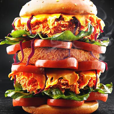 Ravissen carpenen supreme burger