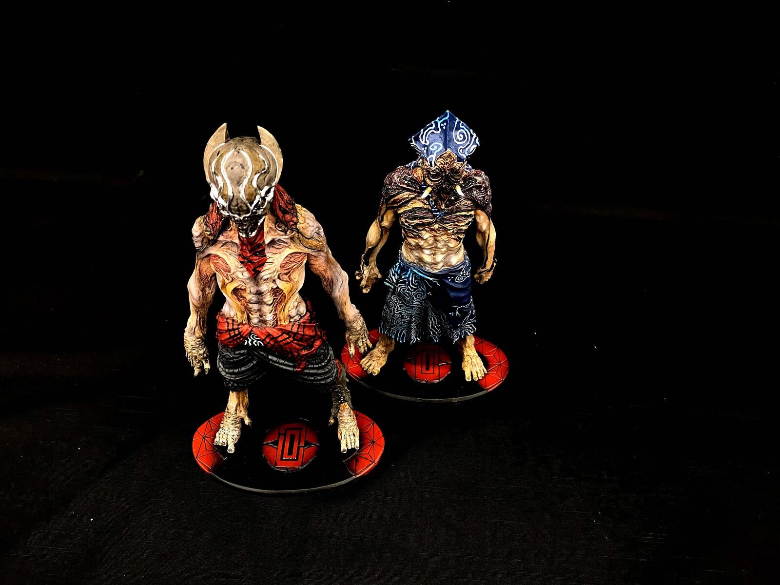 黒衣 完成品 Kuroko Art Statue  https://www.solidart.club/