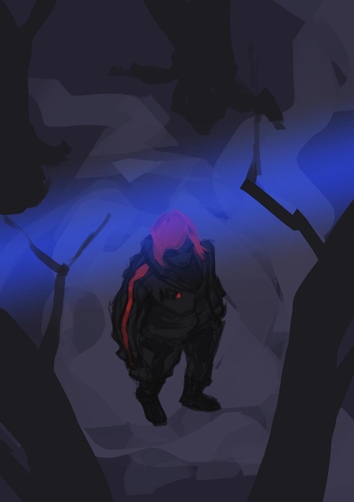 Shepard's dream wip