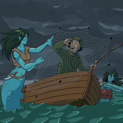 Nick noah mermaid raiders
