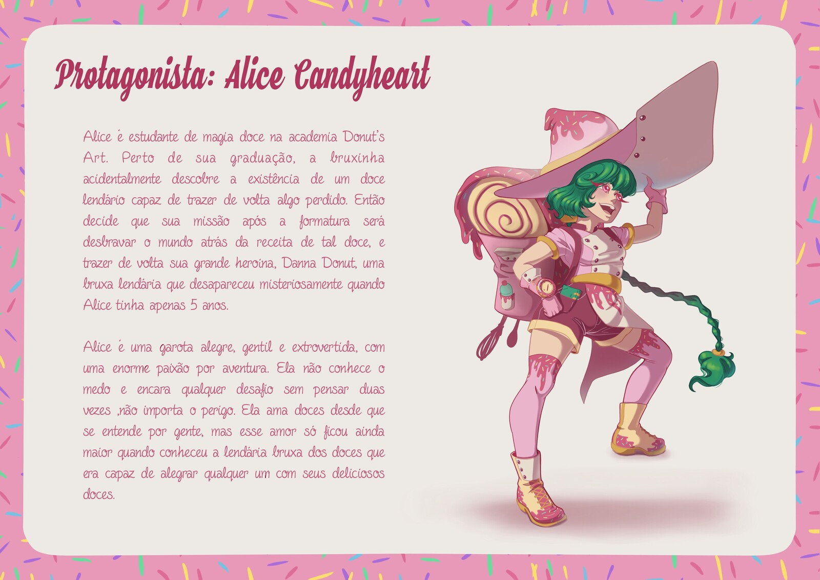 Protagonist: Alice Candyheart