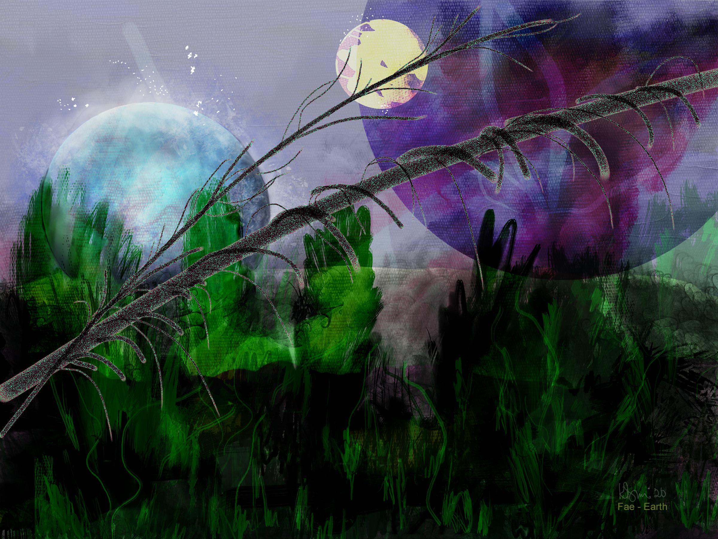 Us to You - Earth Fae :: Channeled Interdimensional Art