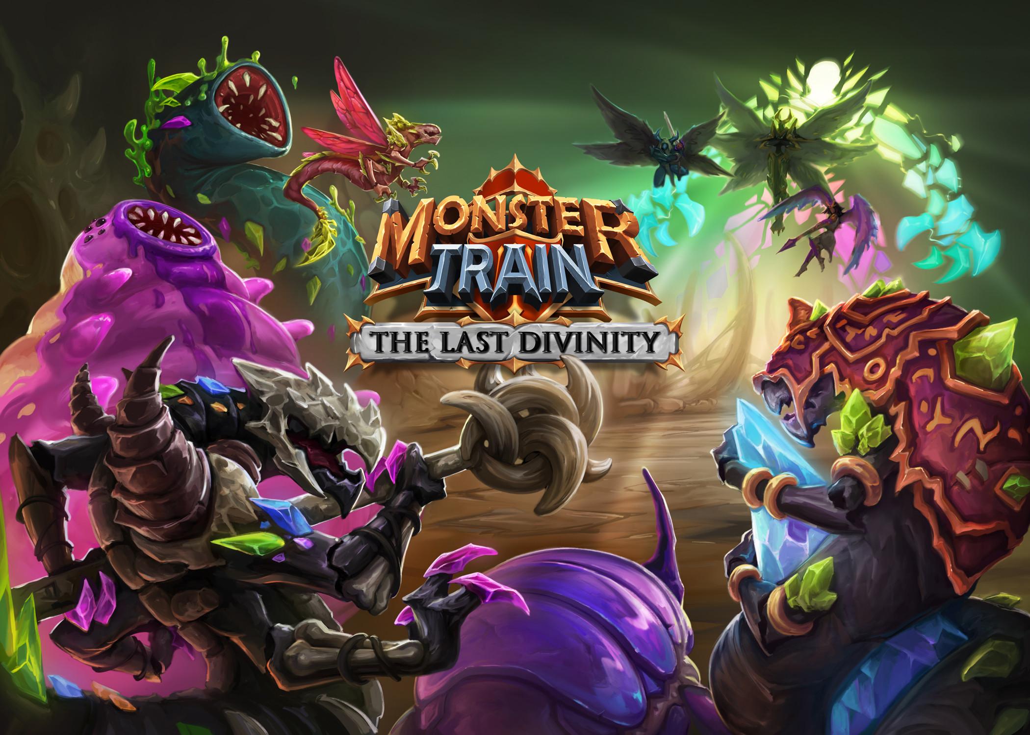 Key art for Monster Train: The Last Divinity DLC