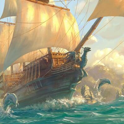 Yasushi matsuoka pirate ship yasu art studio