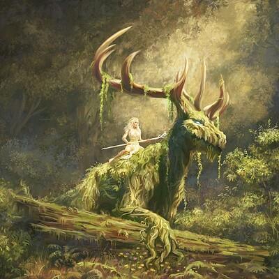 Yasushi matsuoka guardians of the forest yasu art studio