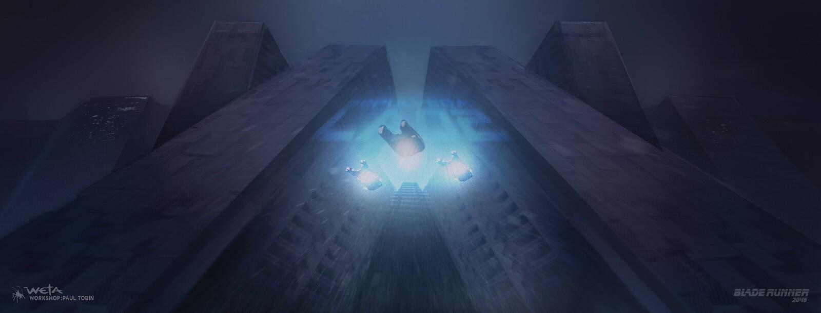 Bladerunner 2049 : Deckard's Escort