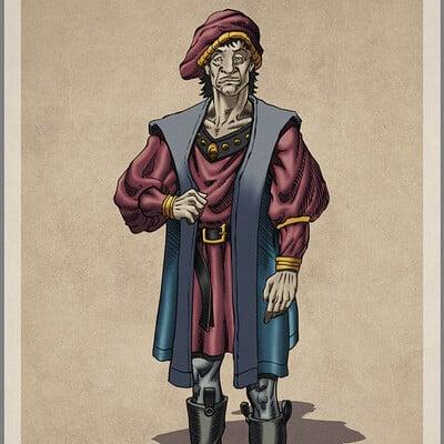 Robert shepherd merchant
