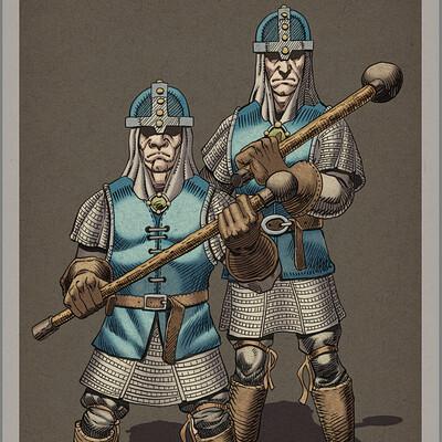 Robert shepherd guards