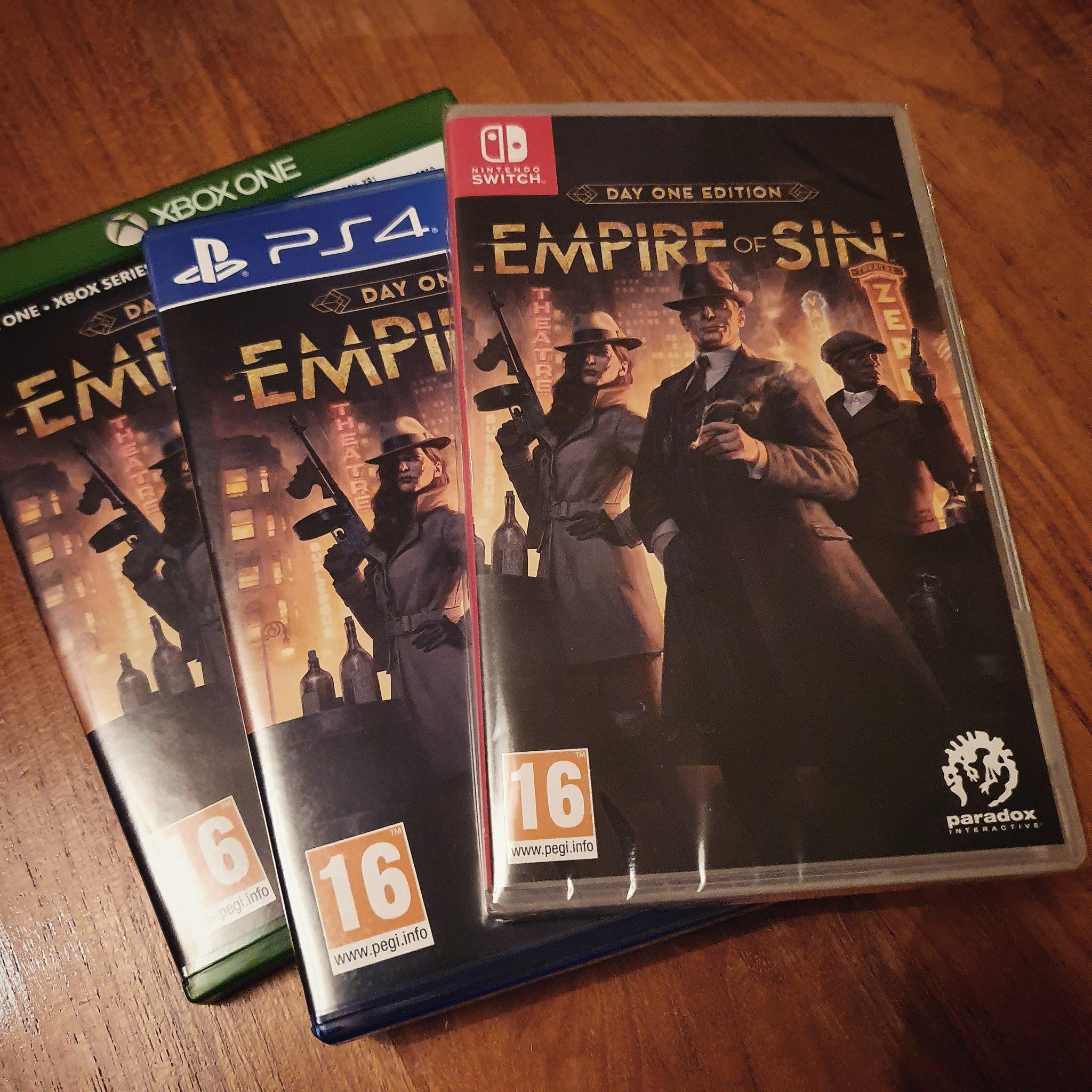 Empire of Sin box art