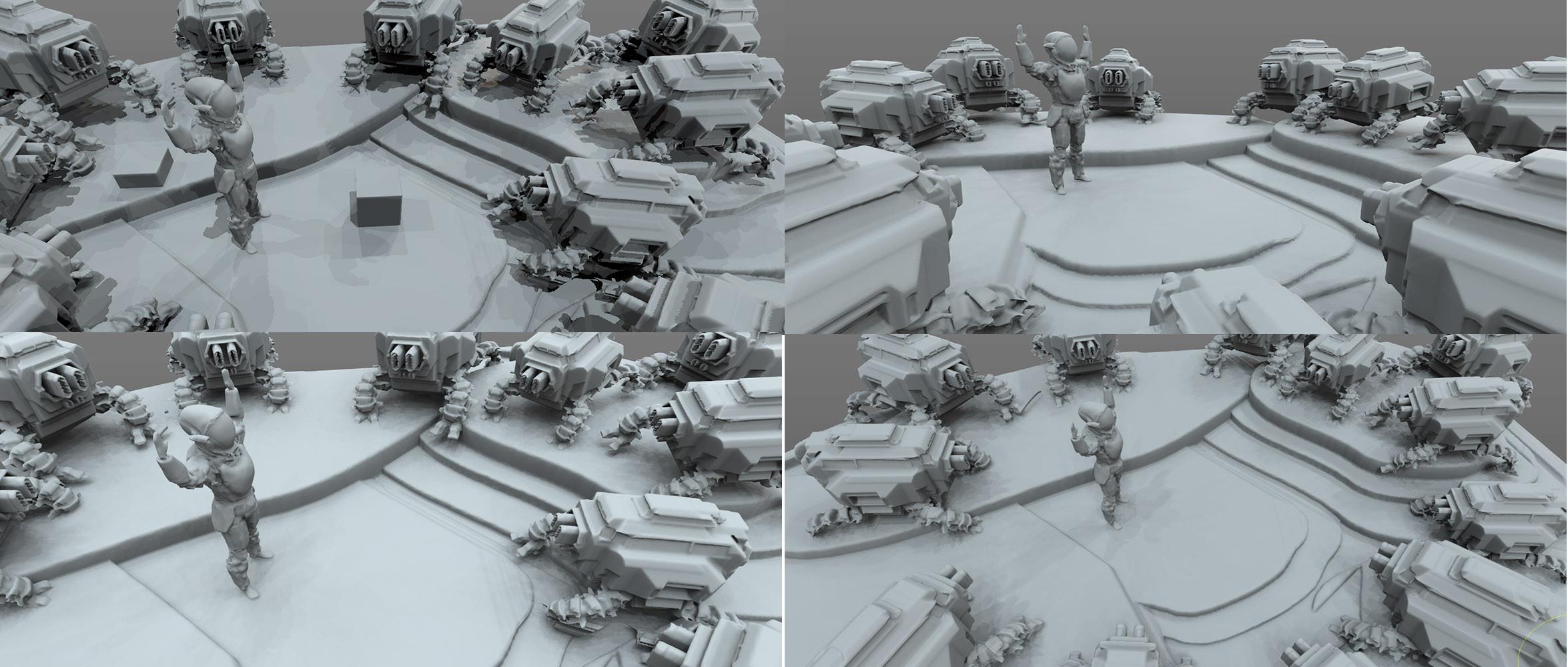 Rough 3D Shot Options