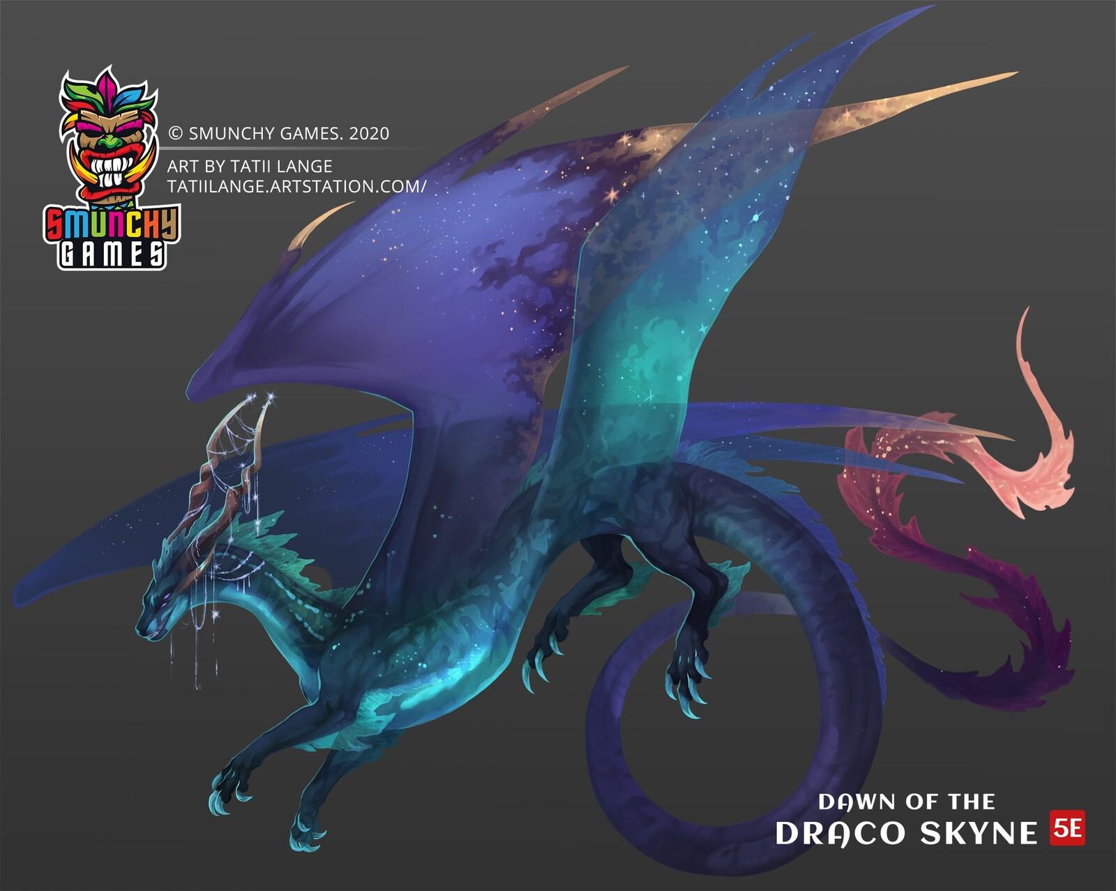 Smunchy Games Dragon Illustrations