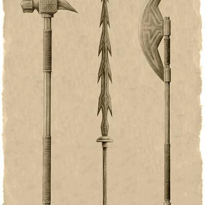 Jack parra 03 dwarven weapons