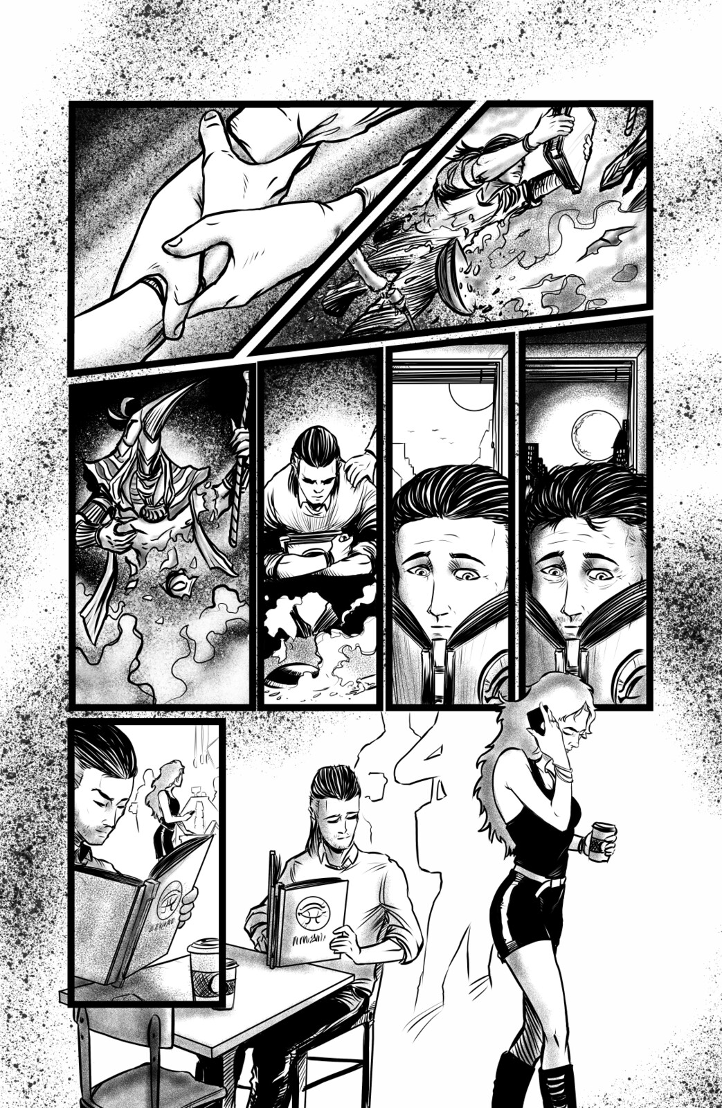 Book of Thoth Page 5 Inked