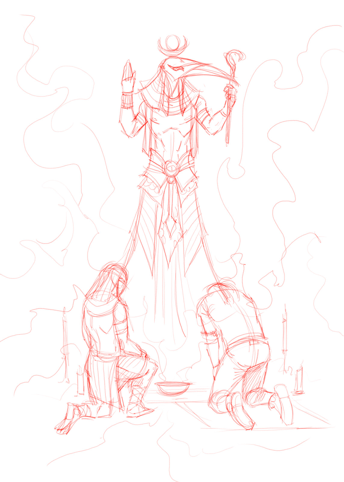Book of Thoth Page 3 Penciled
