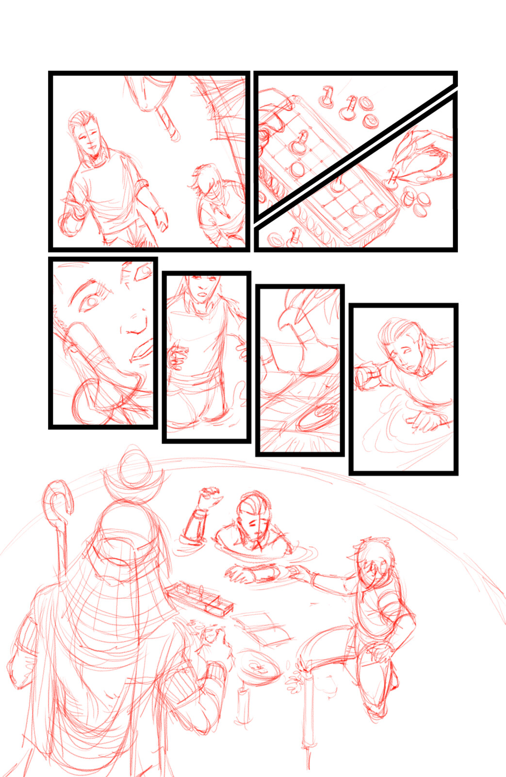 Book of Thoth Page 4 Penciled