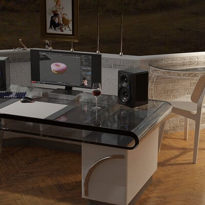 Graeme chegwidden wrought iron table