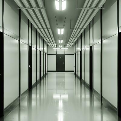 Daniel grove widow hallway