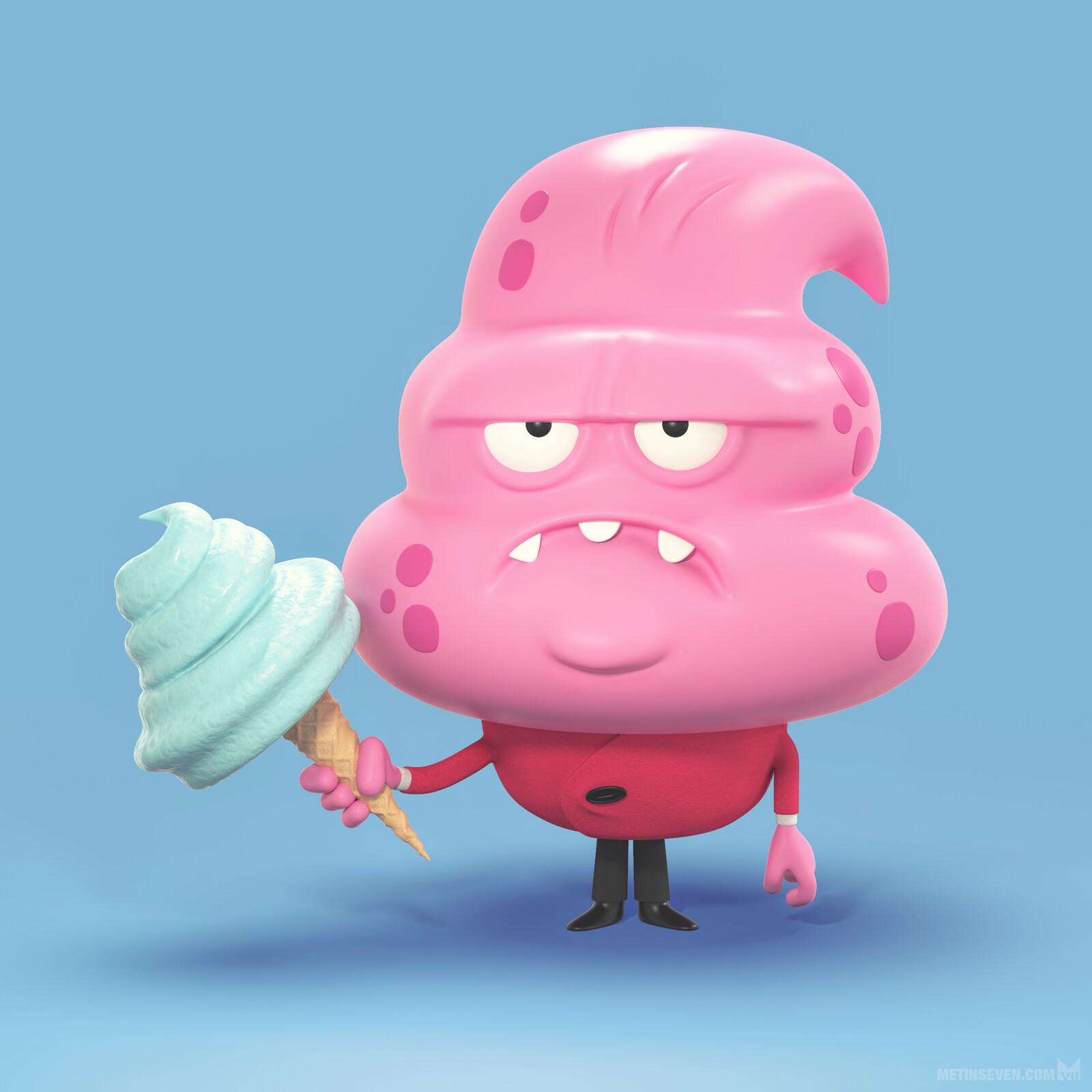 Ice cream monster 🍦 | Concept: Paul Gill