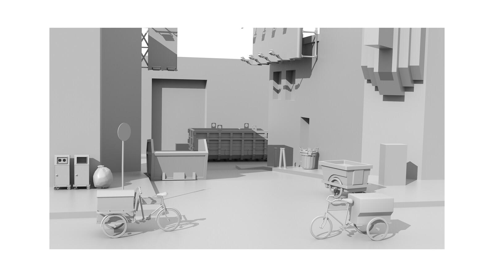 Urban Alley