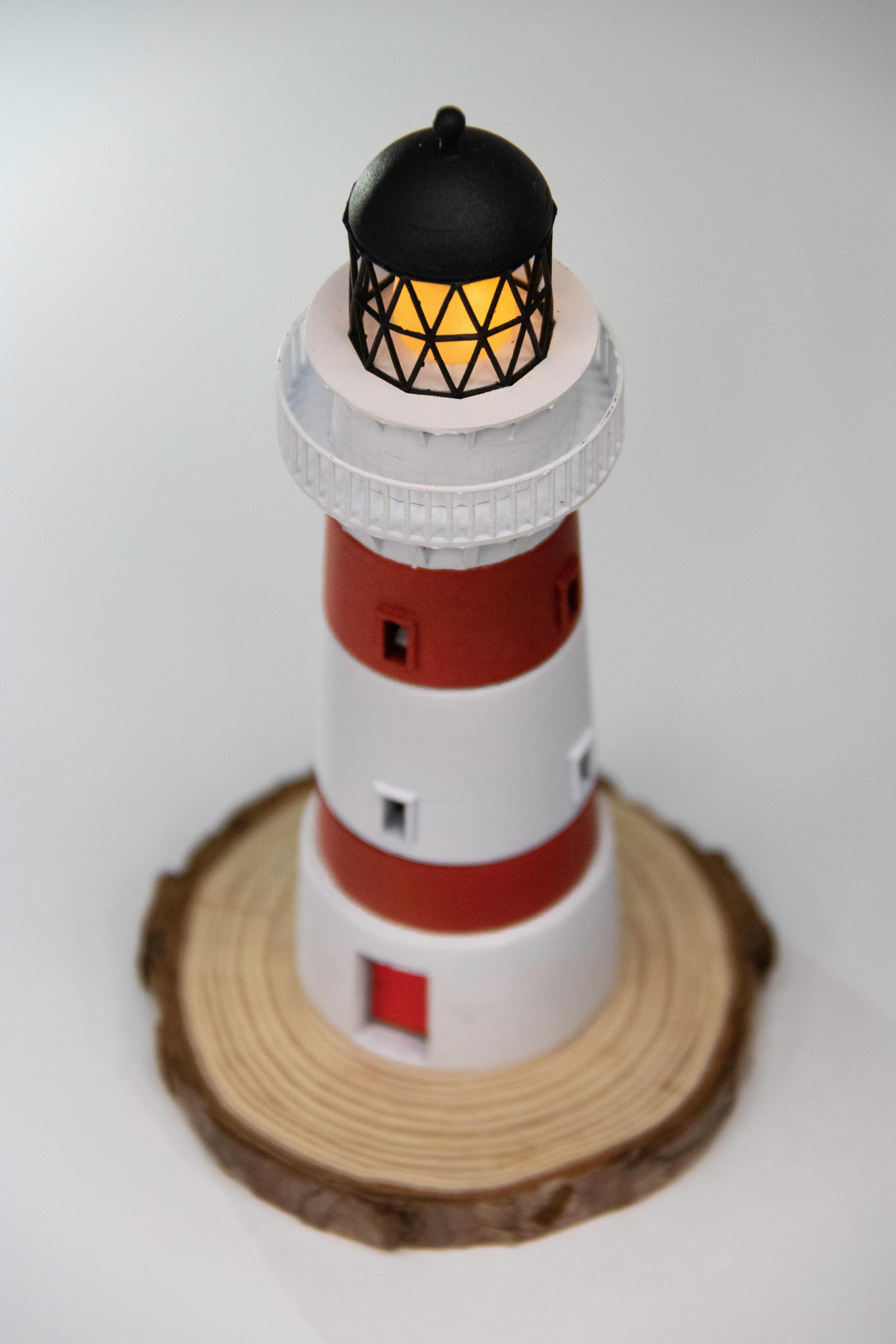 Cape Palliser Lighthouse Miniature - New Zealand - byValle