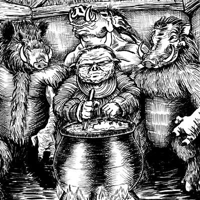 Carlos castilho devil swine
