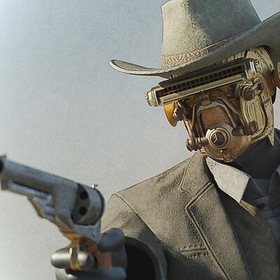 Stephen noble gunslingerpose 01