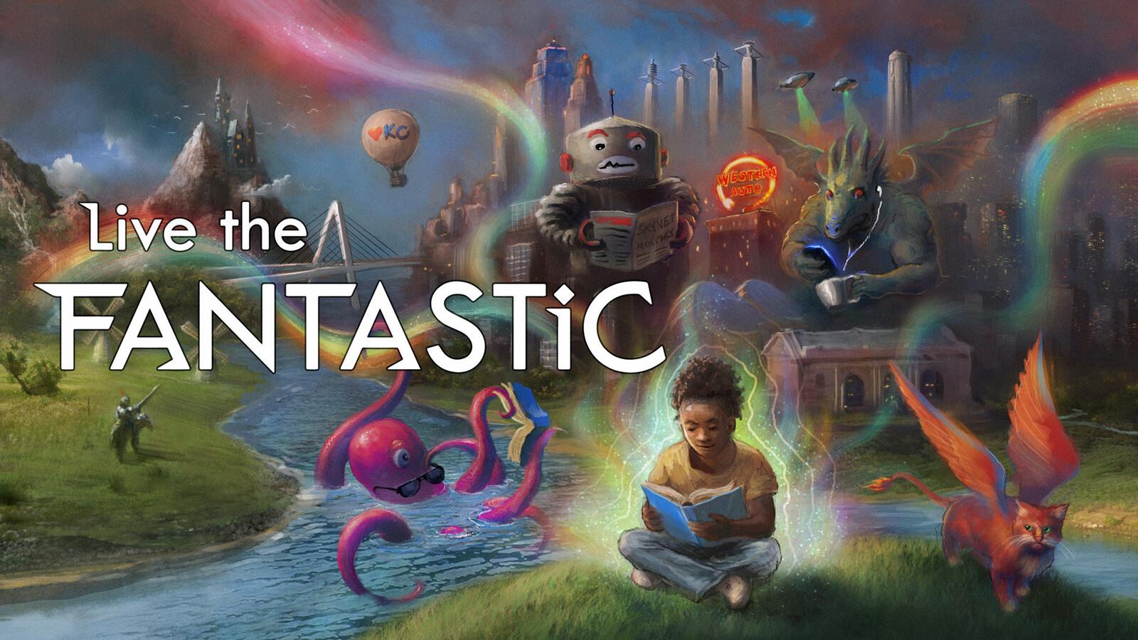 Live the Fantastic - Summer Reading Program 2020