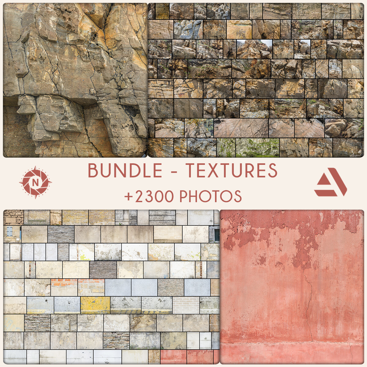 Bundle: Texture Reference Photos - Personal License  https://www.artstation.com/a/5465290