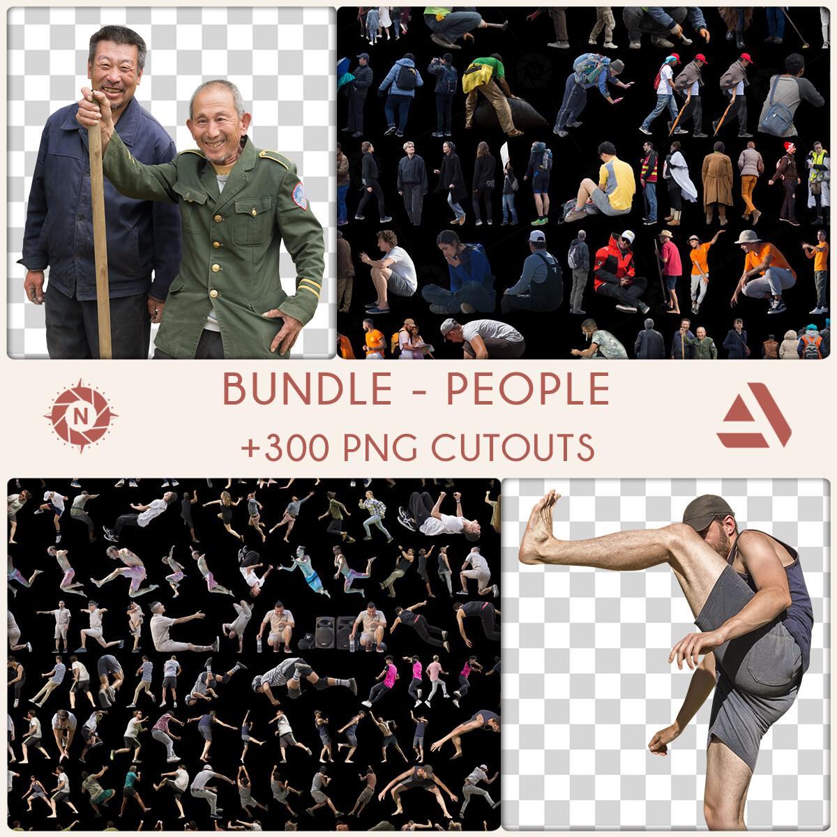 Bundle: PNG Cutouts - People - Personal License  https://www.artstation.com/a/5465288