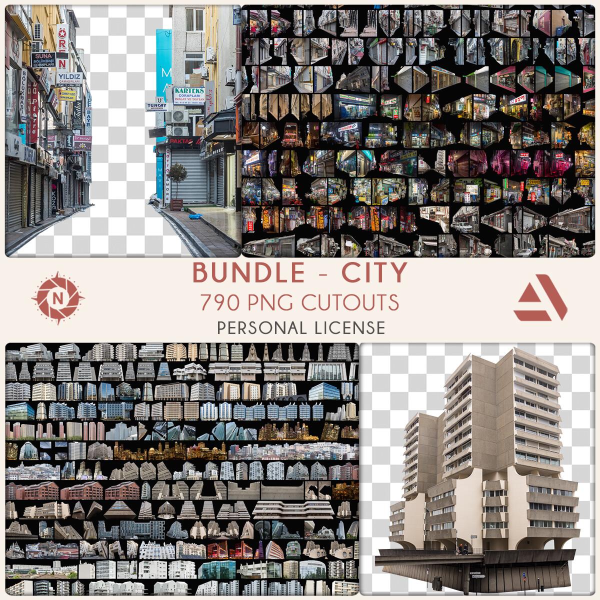 Bundle PNG Photo Packs: City - Personal License  https://www.artstation.com/a/5815878