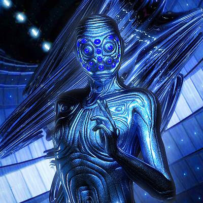 Luca oleastri blue alien