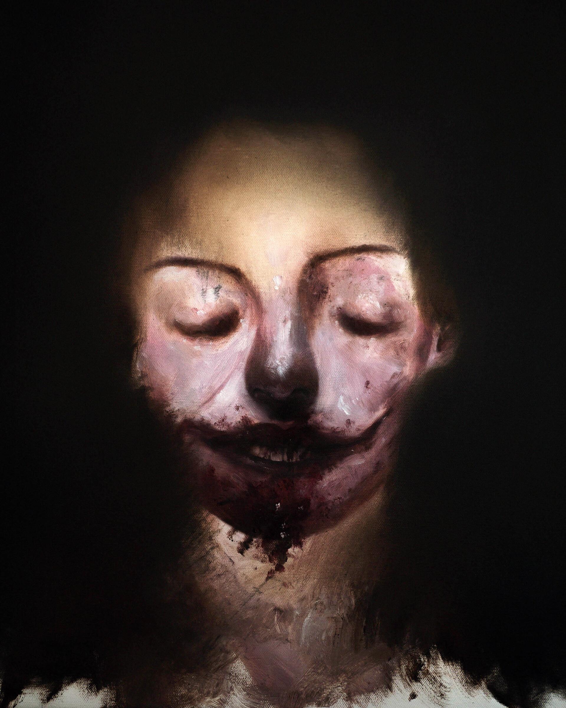 Child of the Night (Oils).