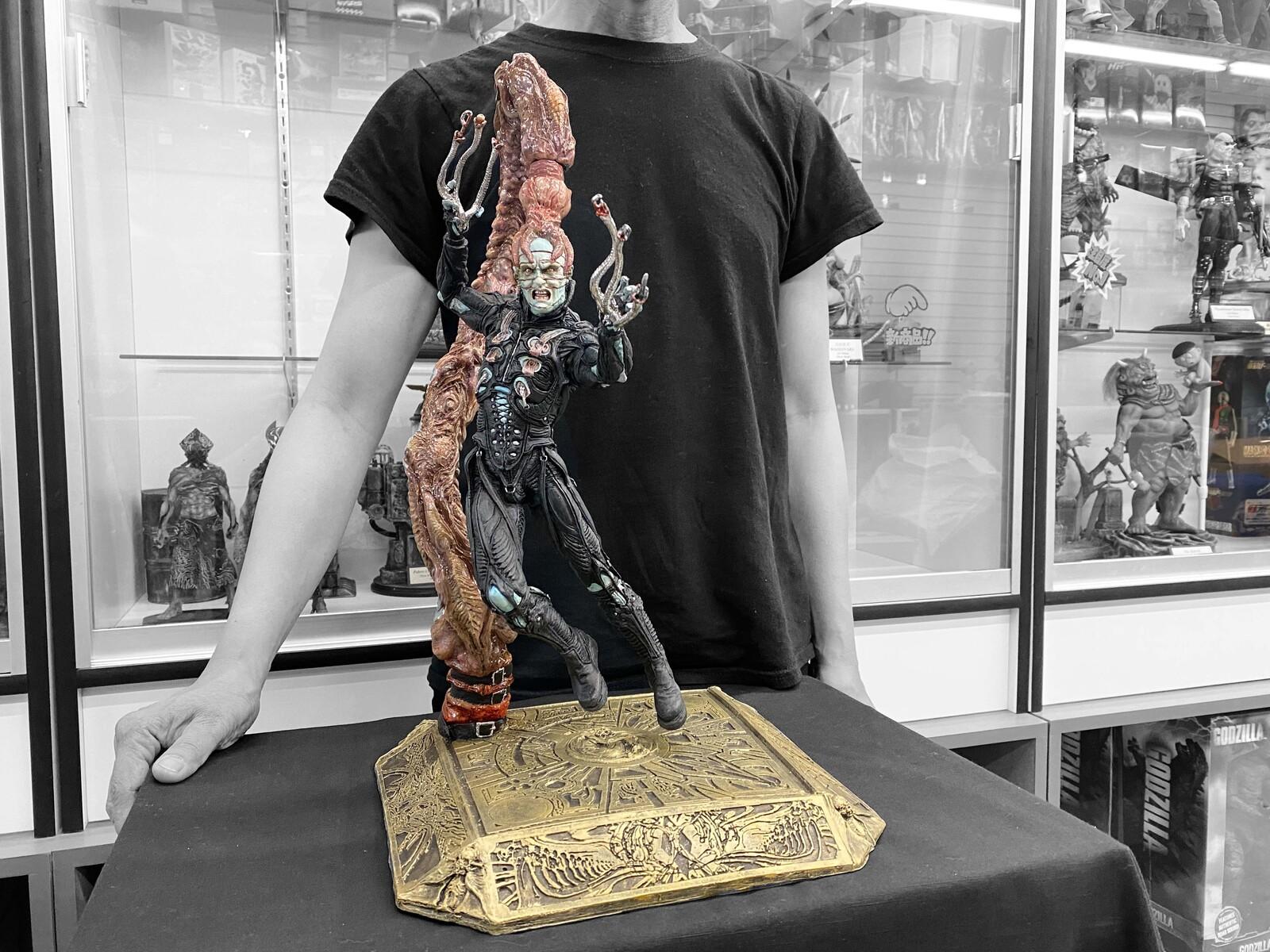 Hellraiser : Dr. Channard Art Statue   Portfolio: https://www.solidart.club